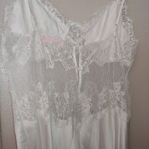 Victoria's Secret nightgown Lace Beaded Bridal